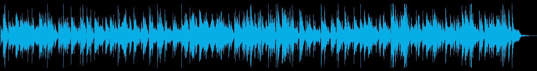 ラウンジで流れるアダルトなサックスジャズの再生済みの波形