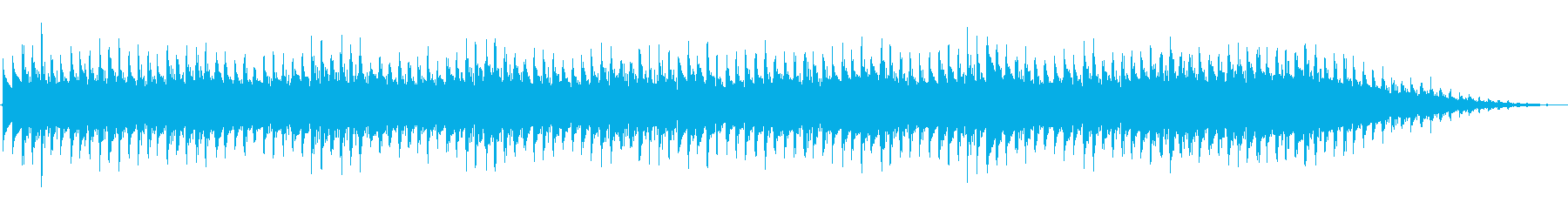 レトロ感のあるアナログシンセの音の再生済みの波形