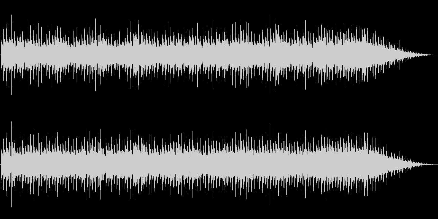 レトロ感のあるアナログシンセの音の未再生の波形