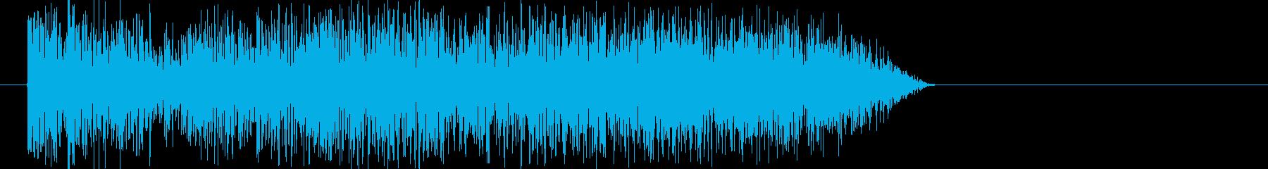 リバーサーの再生済みの波形