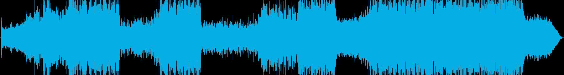 元気が出るファンファーレの再生済みの波形
