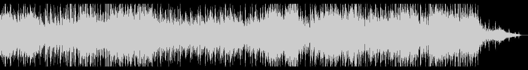 無機質なアンビエントIDMの未再生の波形