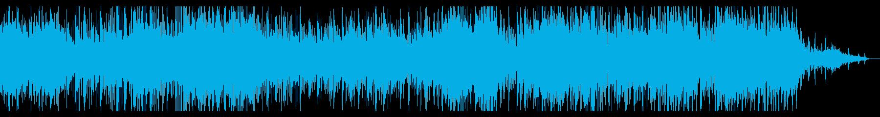 無機質なアンビエントIDMの再生済みの波形