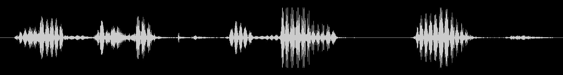 フィクション AI シャトル男性シ...の未再生の波形