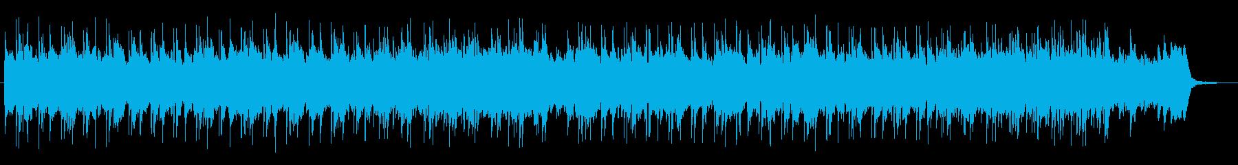 切なく感動的なストリングスポップの再生済みの波形