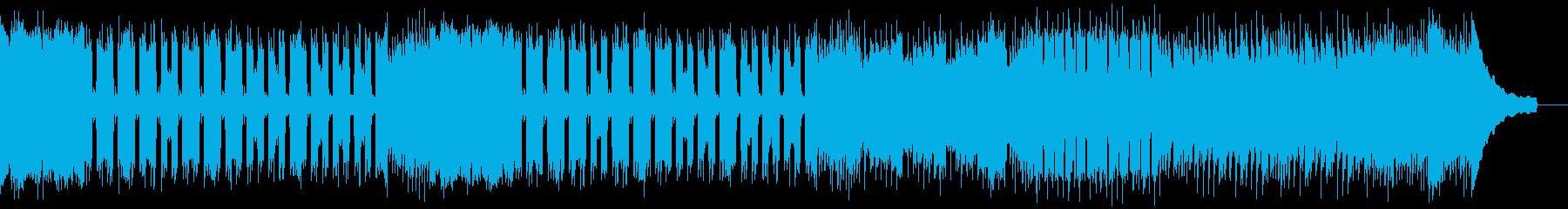 カントリー風ロックギター01Cの再生済みの波形