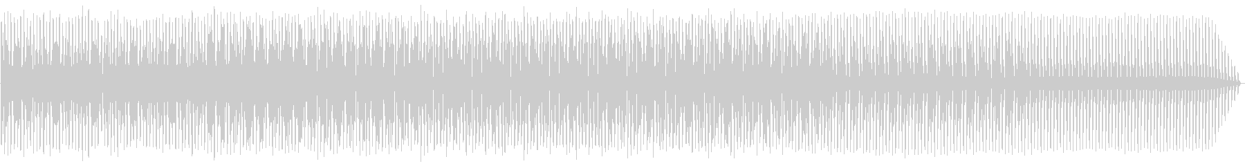 エレクトロハウス。ループ。繰り返します。の未再生の波形