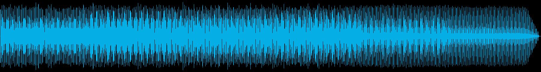 エレクトロハウス。ループ。繰り返します。の再生済みの波形