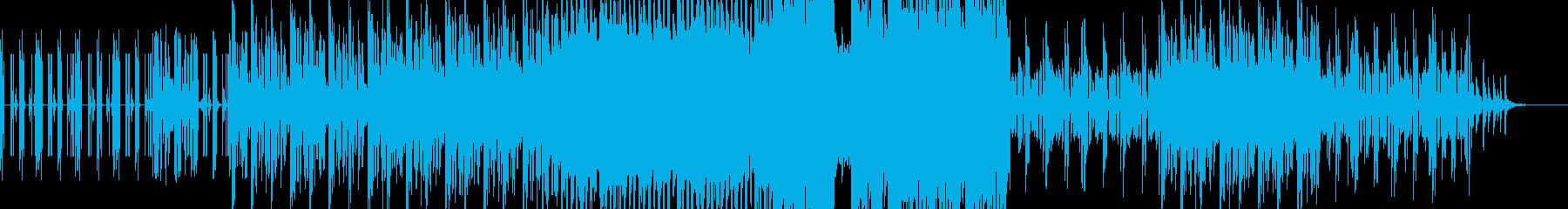 ピアノメインのダークなダブステップの再生済みの波形