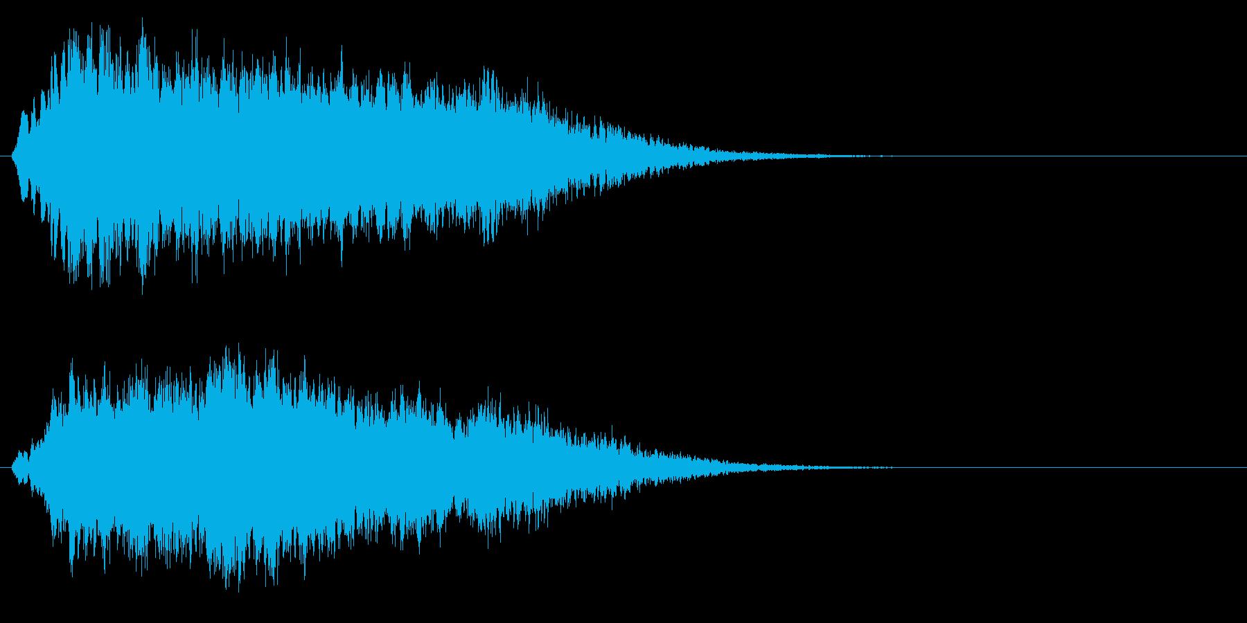 キラキラ↑上昇フレーズ 魔法の再生済みの波形