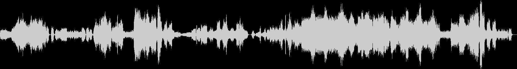ジャン・シベリウスのカバーの未再生の波形