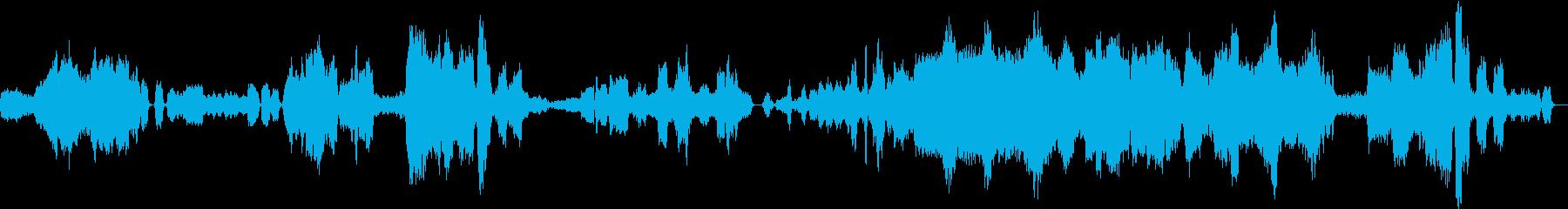 ジャン・シベリウスのカバーの再生済みの波形