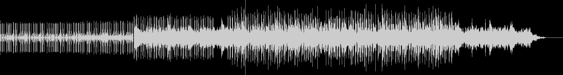 ギターが入ったDNBbeatsの未再生の波形