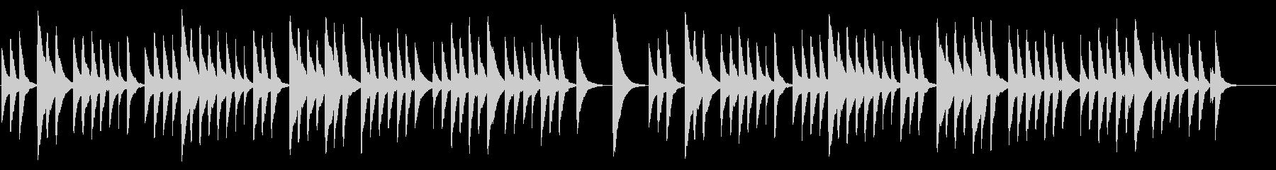 ちょうちょう 18弁オルゴールの未再生の波形