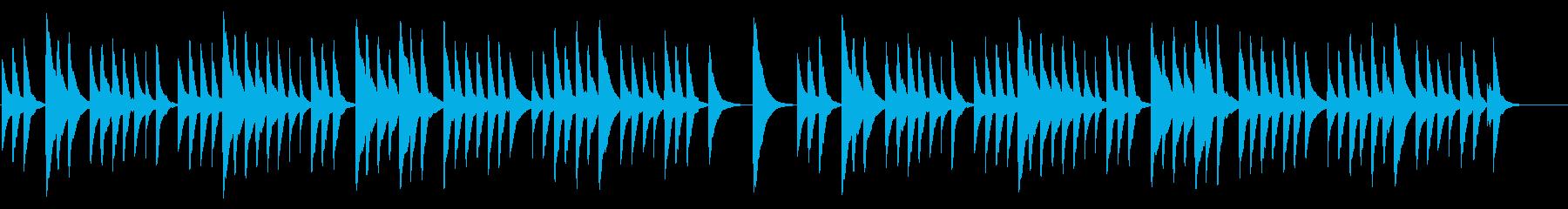 ちょうちょう 18弁オルゴールの再生済みの波形