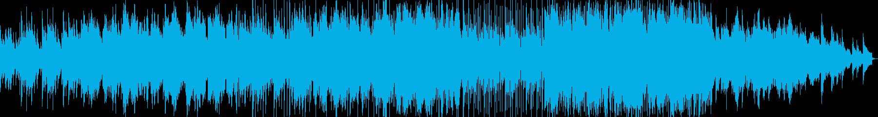 ピアノと二胡による中国古曲BGMの再生済みの波形