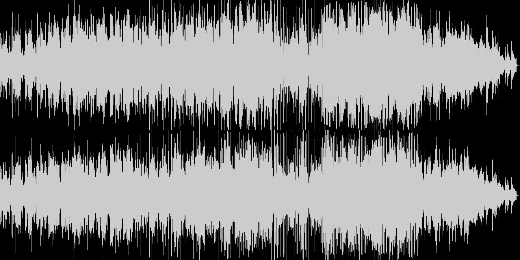 ピアノと二胡による中国古曲BGMの未再生の波形