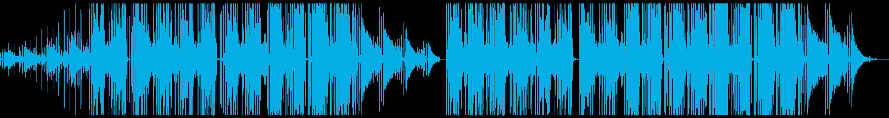 コーヒーが合うジャジーなピアノBGMの再生済みの波形