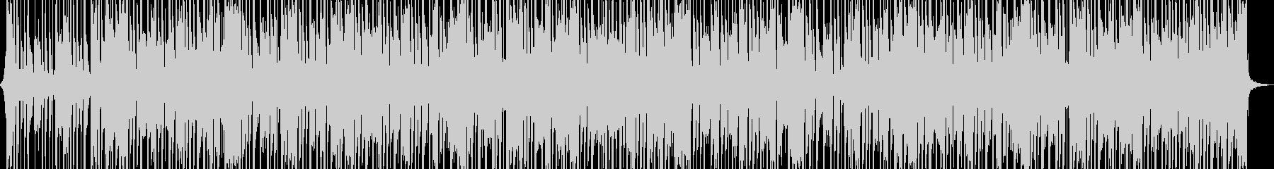 アップビートファンクディスコミュージックの未再生の波形