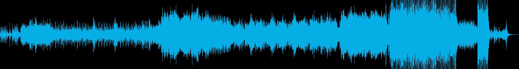 2人が結ばれる時・劇的なラストへ B2の再生済みの波形