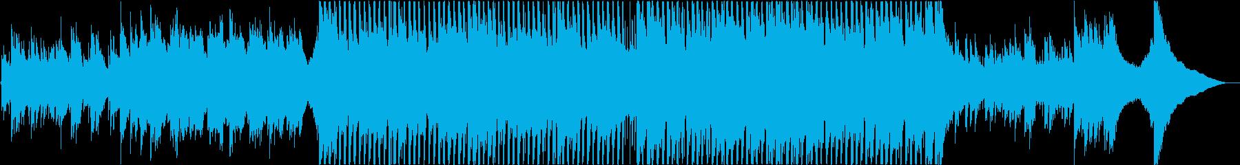 インスピレーション、インディーポップロッの再生済みの波形