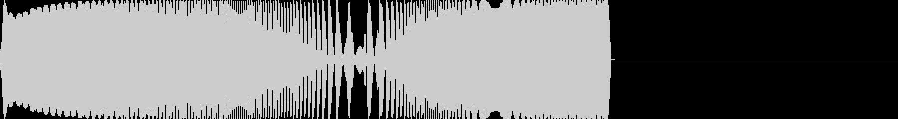 Game レトロなゲームコマンド音 2の未再生の波形