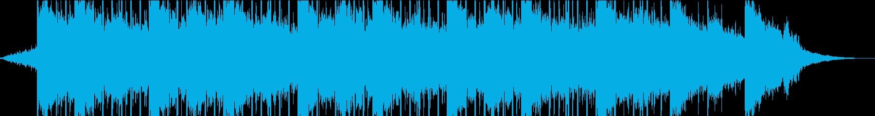 モダン テクノ テクノロジー お祭...の再生済みの波形