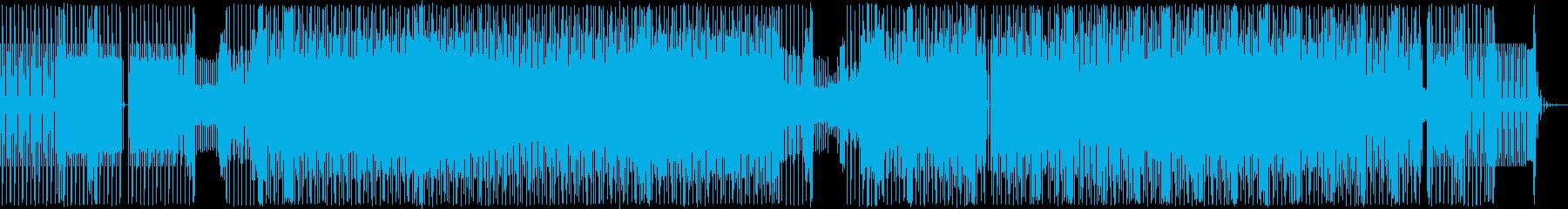 奇妙な音で区切られた、むき出しのリ...の再生済みの波形