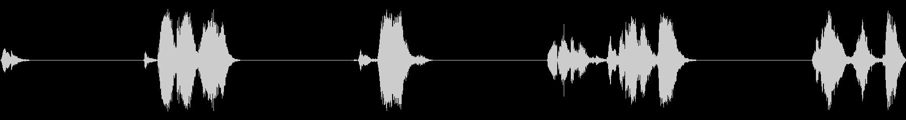 大型メタルゲートヒンジ:ライトスキ...の未再生の波形