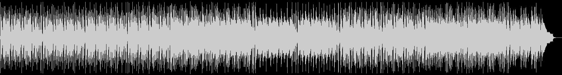 明るく前向きなピアノポップ:高い弦なしの未再生の波形