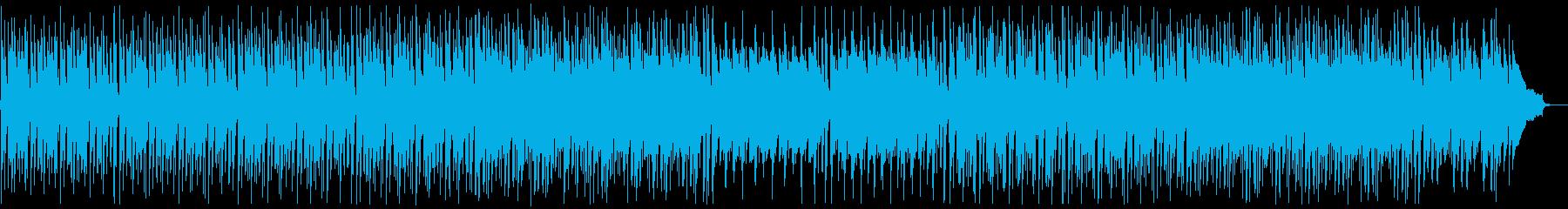 明るく前向きなピアノポップ:高い弦なしの再生済みの波形