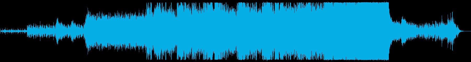 実験的 ロック ポストロック バト...の再生済みの波形