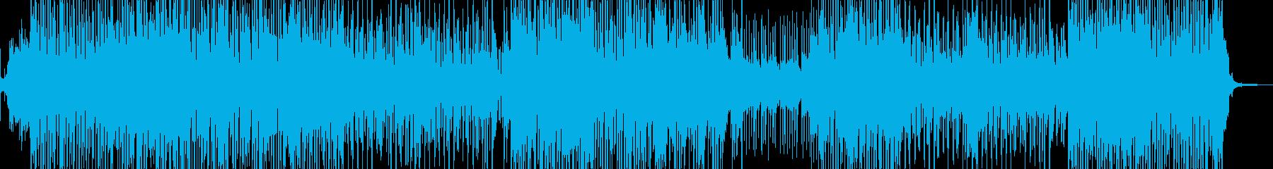 琴・三味線・レトロな演歌調R&Bポップの再生済みの波形