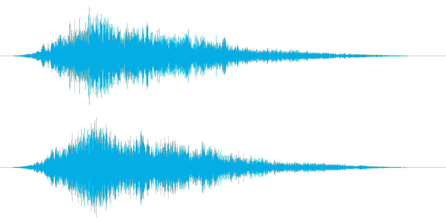 ホラー系/不気味/不穏な空気の再生済みの波形