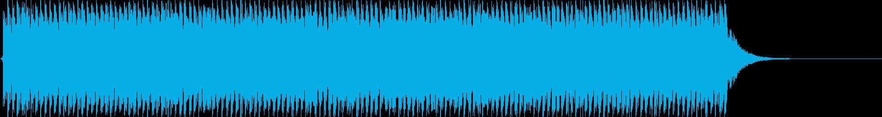 目覚まし時計 アラーム ベル 2の再生済みの波形