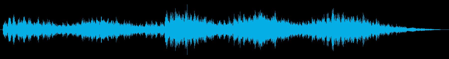 打撃 緊張のエニグマ02の再生済みの波形