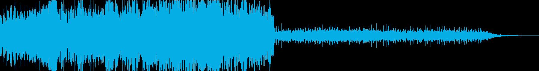 インテリミステリアスなクール謎解きテクノの再生済みの波形