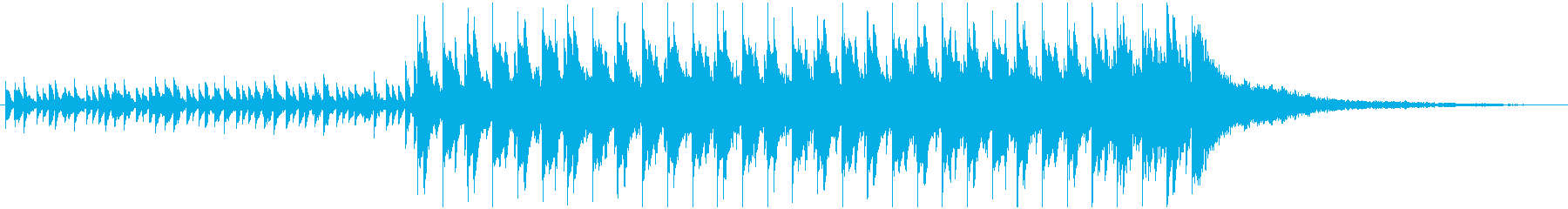 NCS風オリジナルインスト曲です。の再生済みの波形