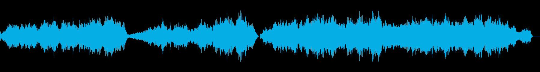 G線上のアリアのオーケストラの再生済みの波形