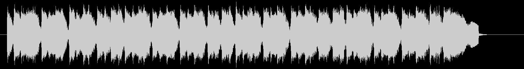 ギターのリフが繰り返される明るいポップスの未再生の波形