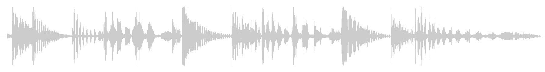 フィクション エイリアン 未知の種02の未再生の波形