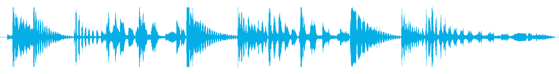 フィクション エイリアン 未知の種02の再生済みの波形
