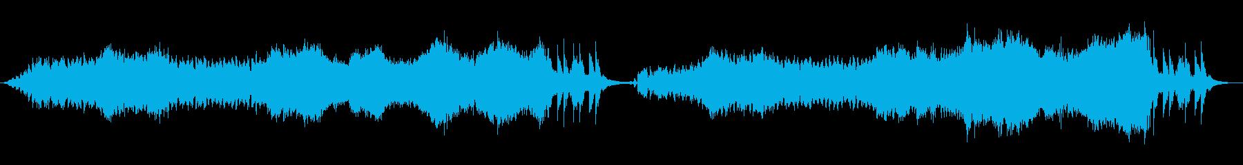 冒険感あるオーケストラの再生済みの波形