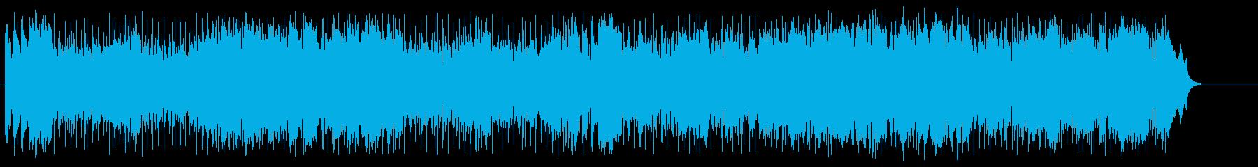 粋なマイナー・ポップ/フュージョンの再生済みの波形