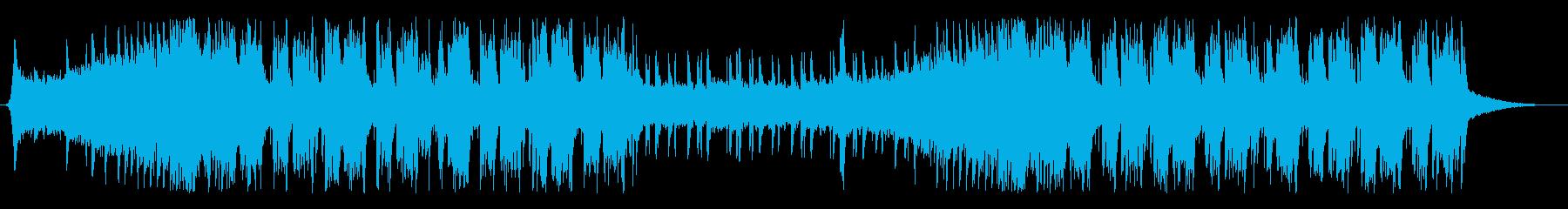 future bass /EDM/クールの再生済みの波形