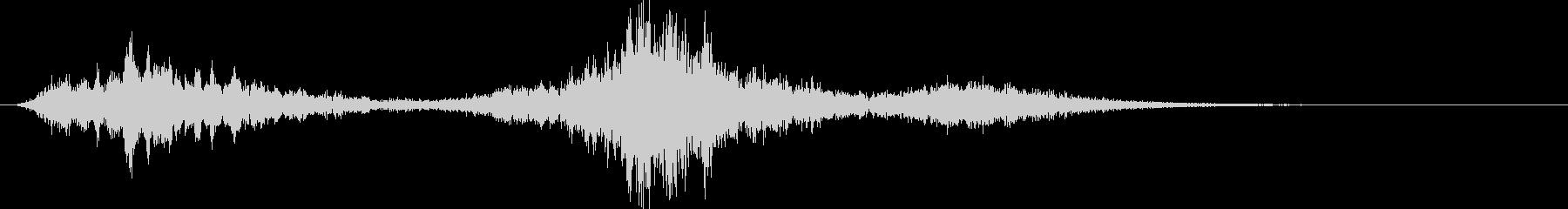デビルグローン3の未再生の波形