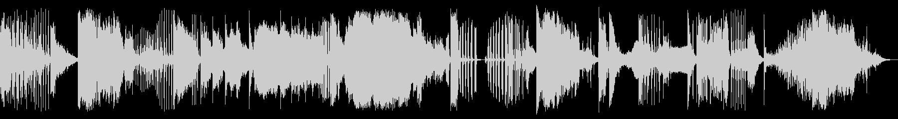 ロングショットボウリングストライクの未再生の波形