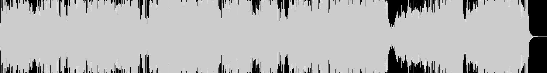 戦闘スタート・シンフォニックロック 長尺の未再生の波形