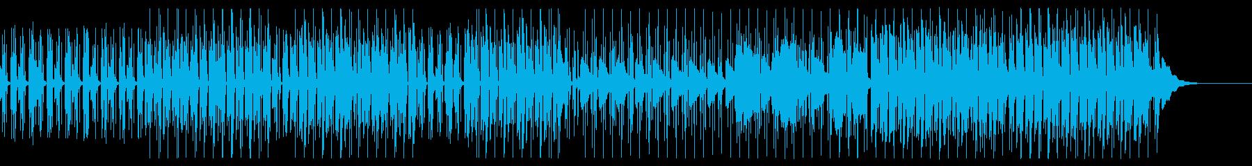 ハウス/静かな海や平和な日常をイメージの再生済みの波形