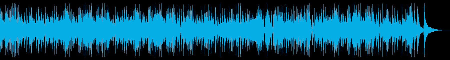 ピアノ演奏によるラジオ体操の再生済みの波形